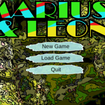 """Mariusz i Leon"" – game in Unity – alpha version"