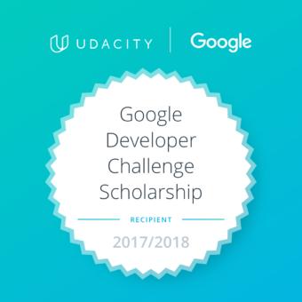 Google Developer Challenge Scholarship 2017/2018 – zakończenie