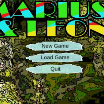 """Mariusz i Leon"" – game in Unity – alpha version"