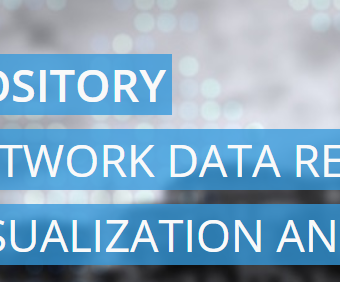 Network repository – datamining and visualization